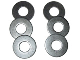 Official metal Texas Horseshoes Washers.