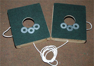 1-Hole Washers Game Set
